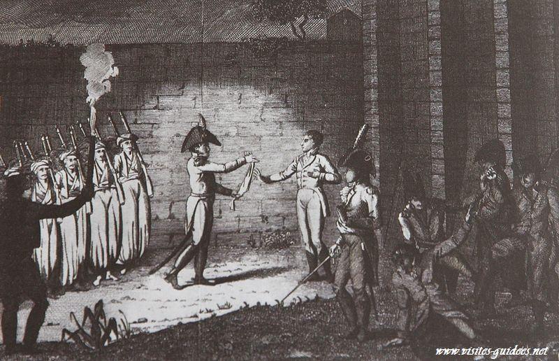 Assassinat du duc d'Enghien Château de Vincennes