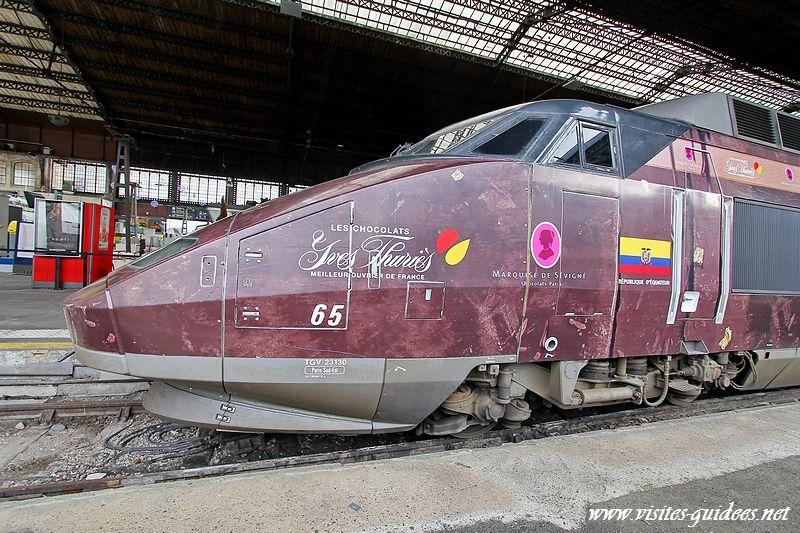 TGV chocolat