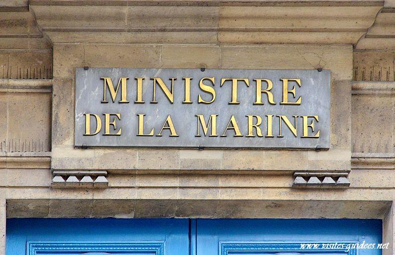 Ministère de la Marine