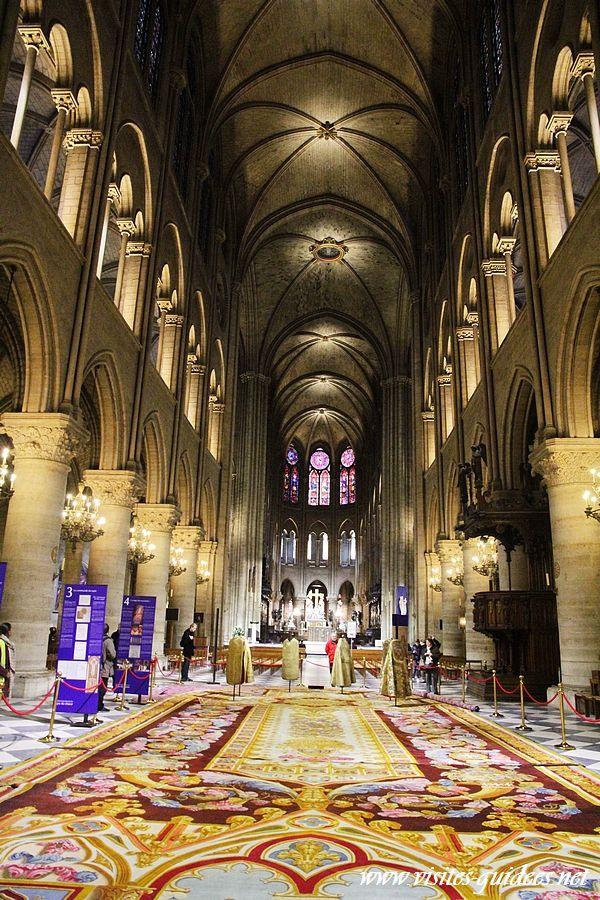 Tapis du choeur de notre dame de paris paris autrement - Tapis saint maclou paris ...