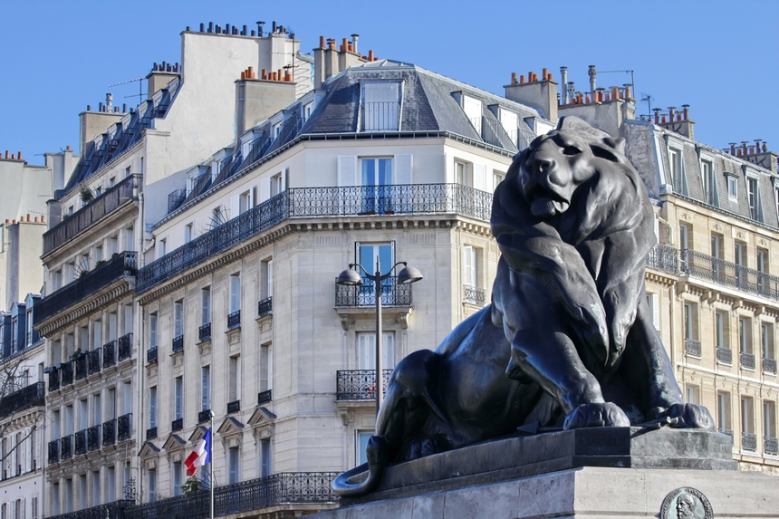 Le Lion de Belfort Paris
