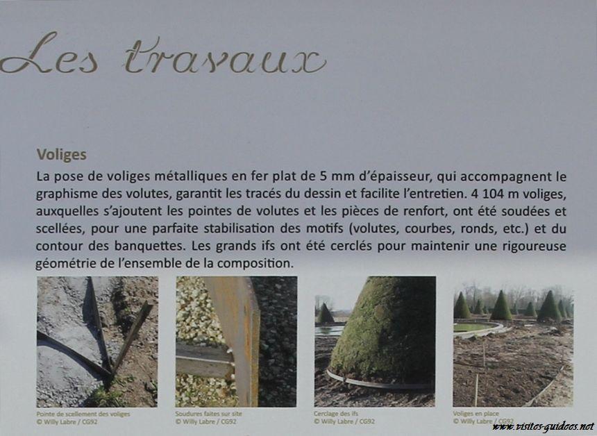 Parterres de broderie Domaine de Sceaux