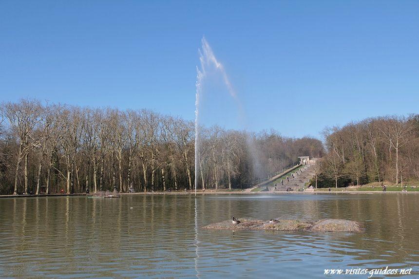 parc de Sceaux bassin de l'Octogone