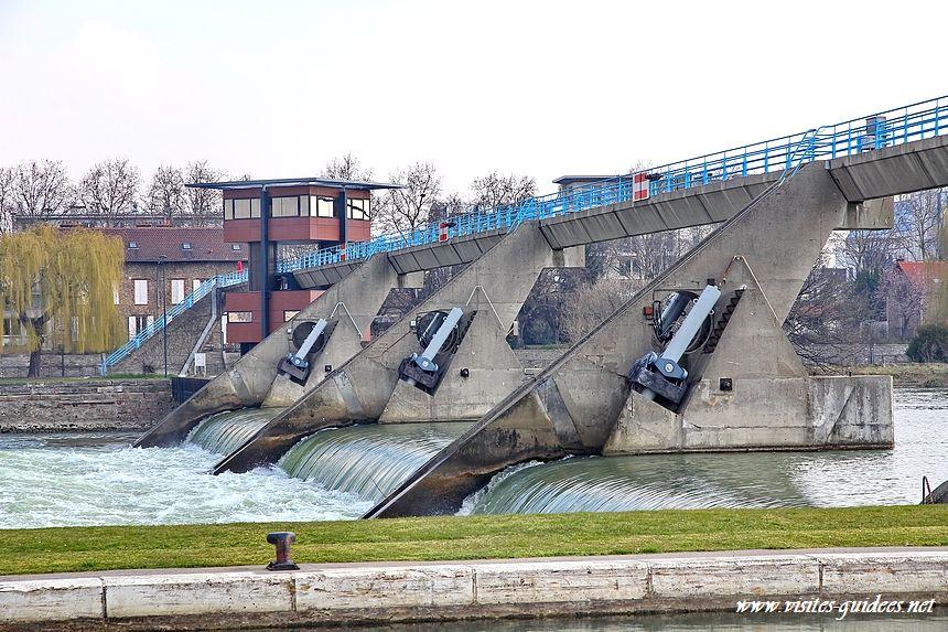 barrage du Port à l'Anglais Vitry sur Seine