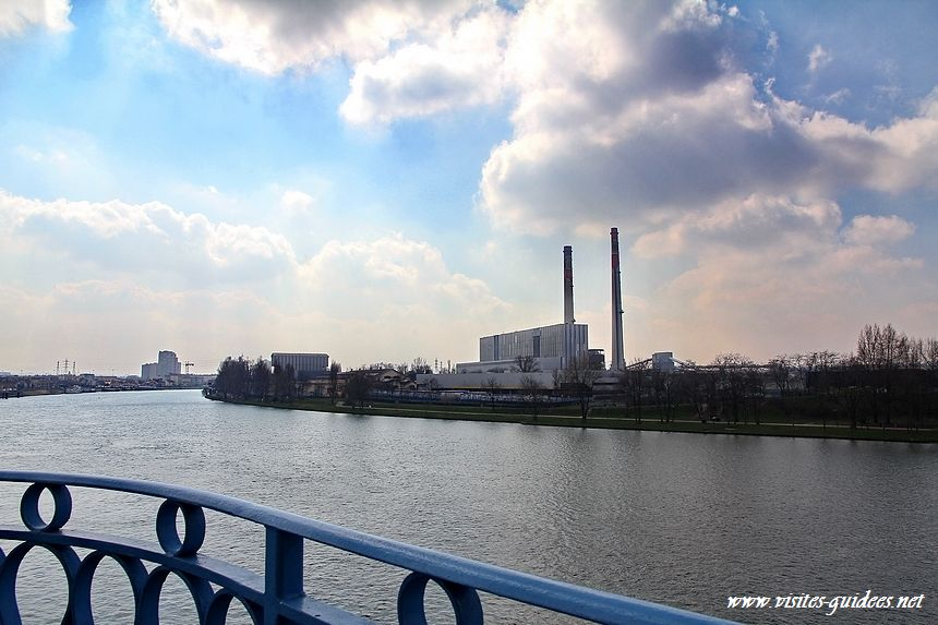 Pont du Port-à-l'Anglais Vitry sur Seine