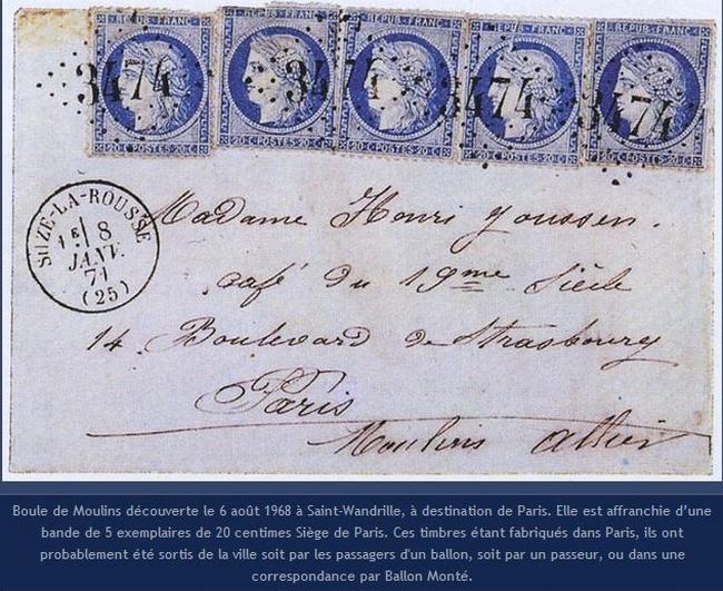 boule de Moulins lettre