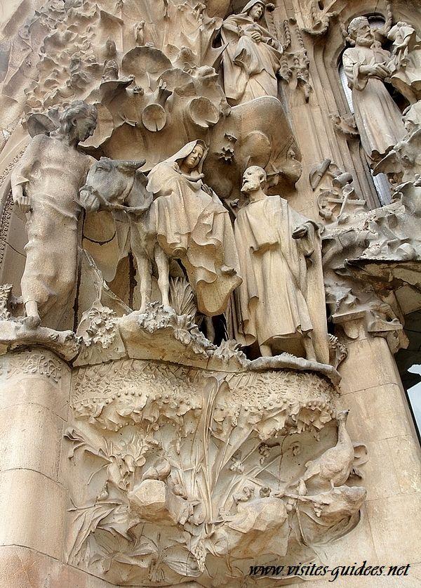 Sagrada Familia fuite en Egypte