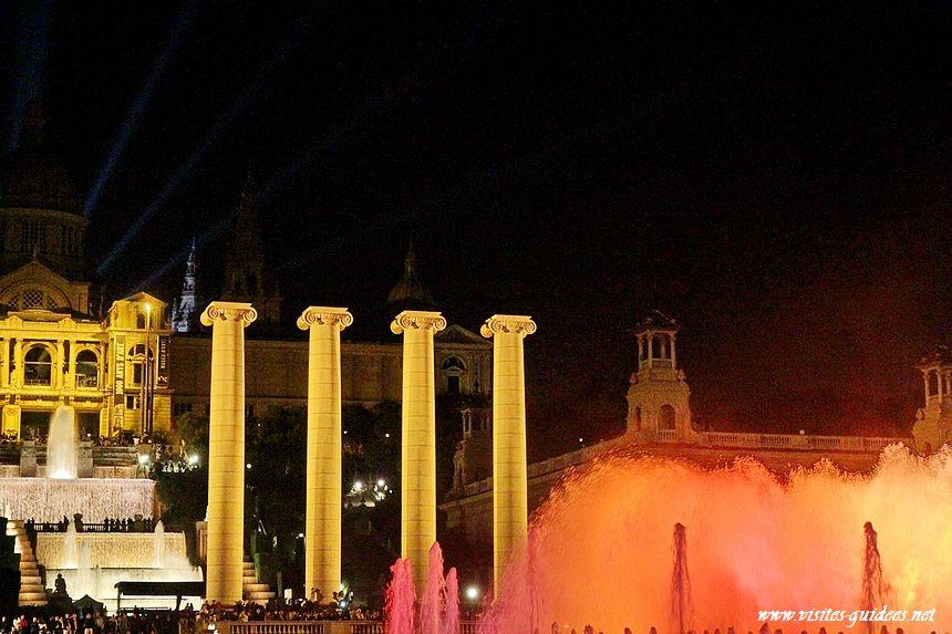 Fontaine magique de Montjuic Barcelone