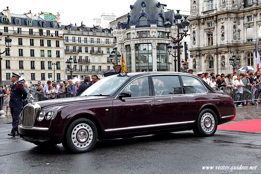 Hôtel de Ville de Paris Bentley royale