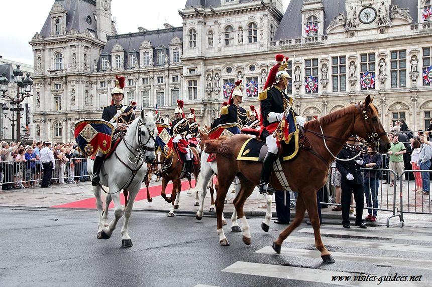 Hôtel de Ville de Paris Garde Républicaine