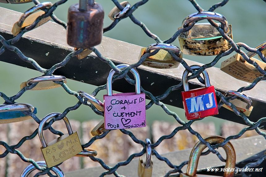 Les cadenas d'amour Pont des Arts 3 septembre 2011