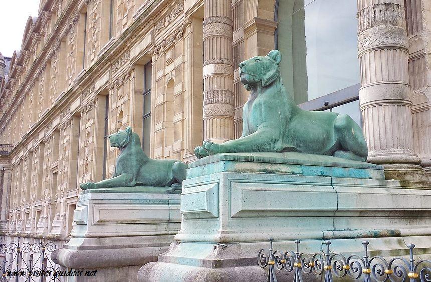 Lions porte Jaujard