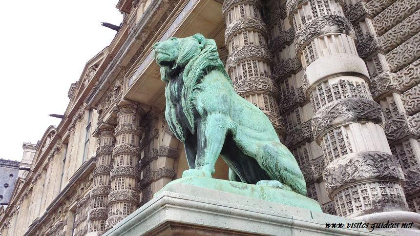 Porte des Lions Le Louvre