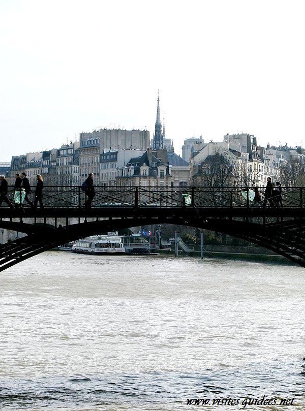 Cadenas d'amour Pont des Arts 3 mars 2010