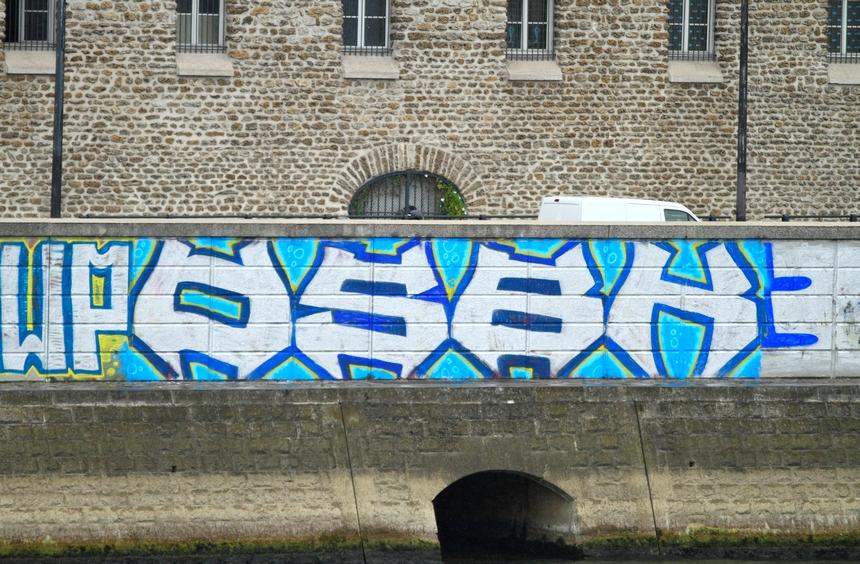 Street Art Quai de la Rapée Paris 12