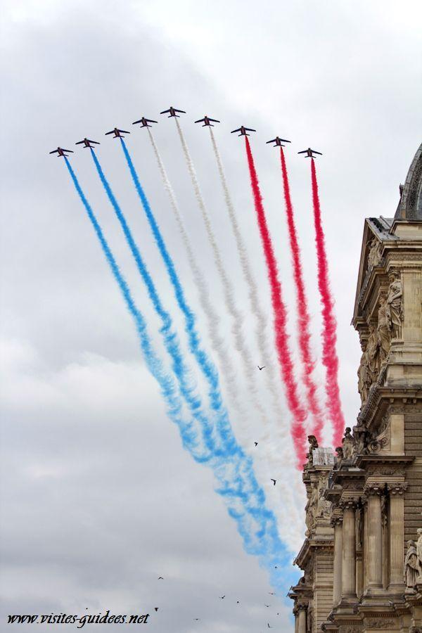 Défilé du 14 juillet 2014 Patrouille de France
