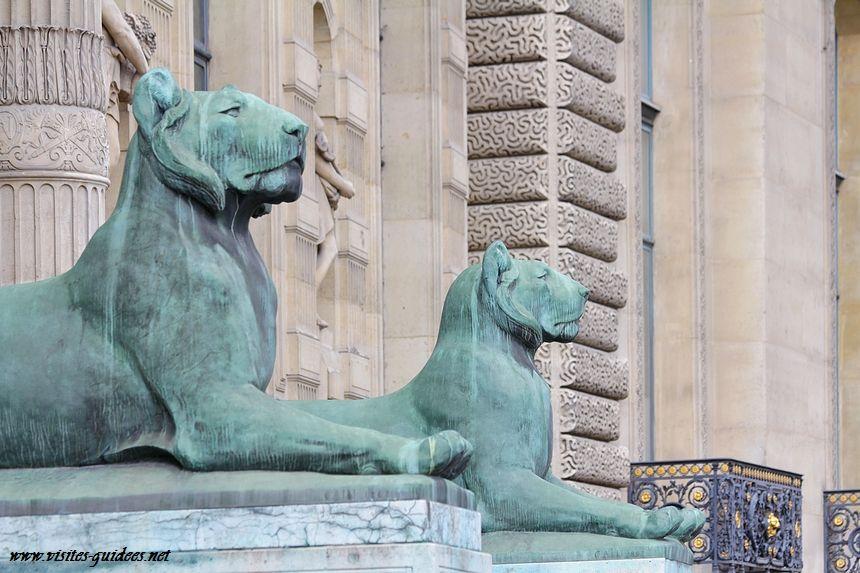 Porte Jaujard Musée du Louvre