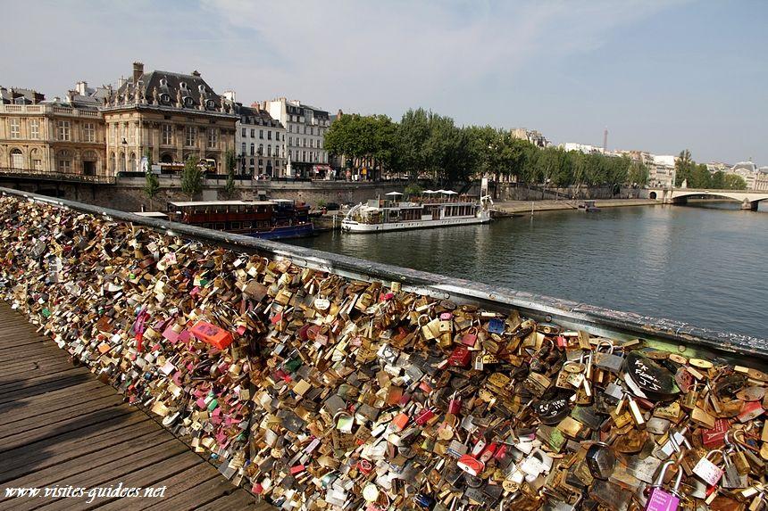 Cadenas d'amour Pont des Arts