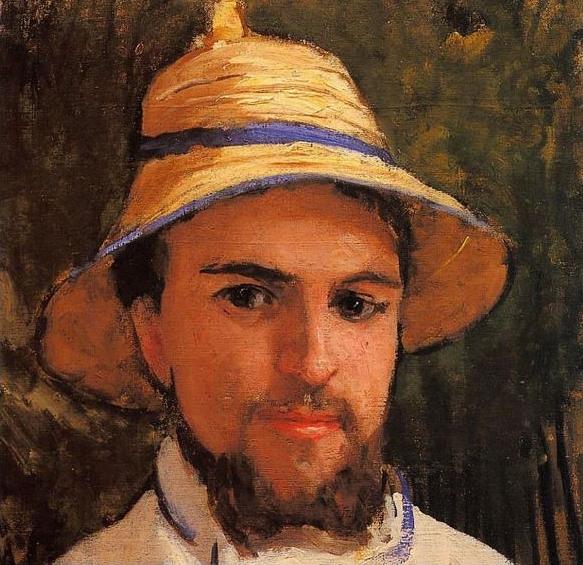 auto portrait Gustave Caillebotte
