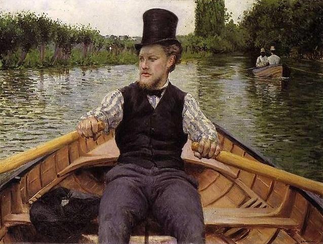 partie de bateau Gustave Caillebotte