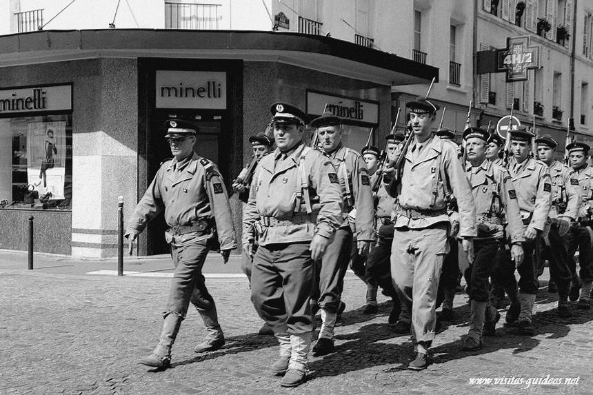Libération de Paris par la 2e DB et la 4e DIUS