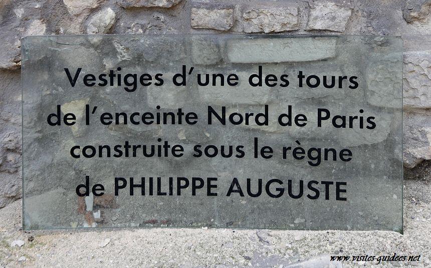 Enceinte de Philippe Auguste Rue du Louvre