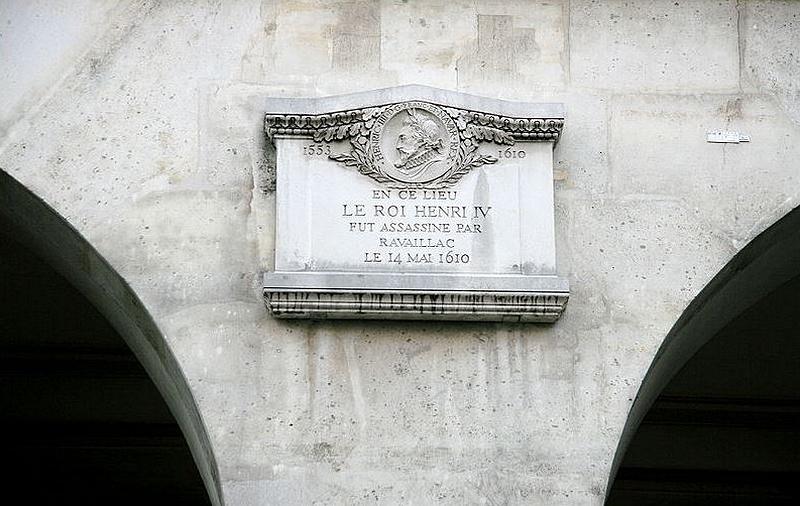 plaque Henri IV