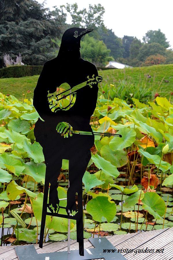 z'animaux musiciens  violon corbeau
