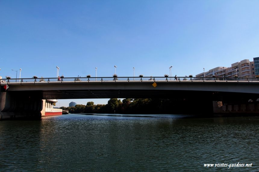 Balade des îles Pont de Boulogne Billancourt