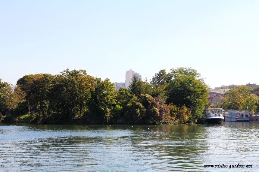 berges de Seine île St Germain