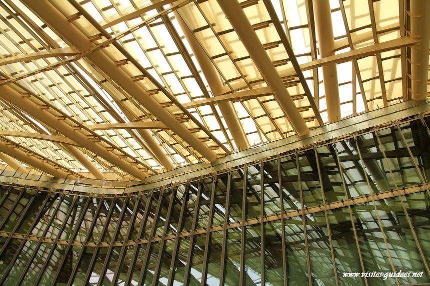 La Canopée les Halles facades des équipements publics