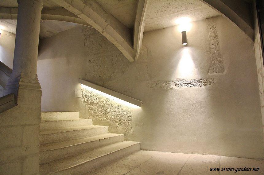 L'escalier d'honneur de l'Hôtel de Ville