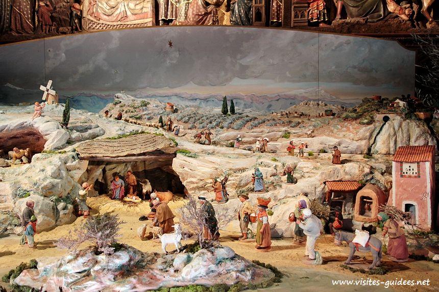 Crèche de Noël Notre-Dame de Paris