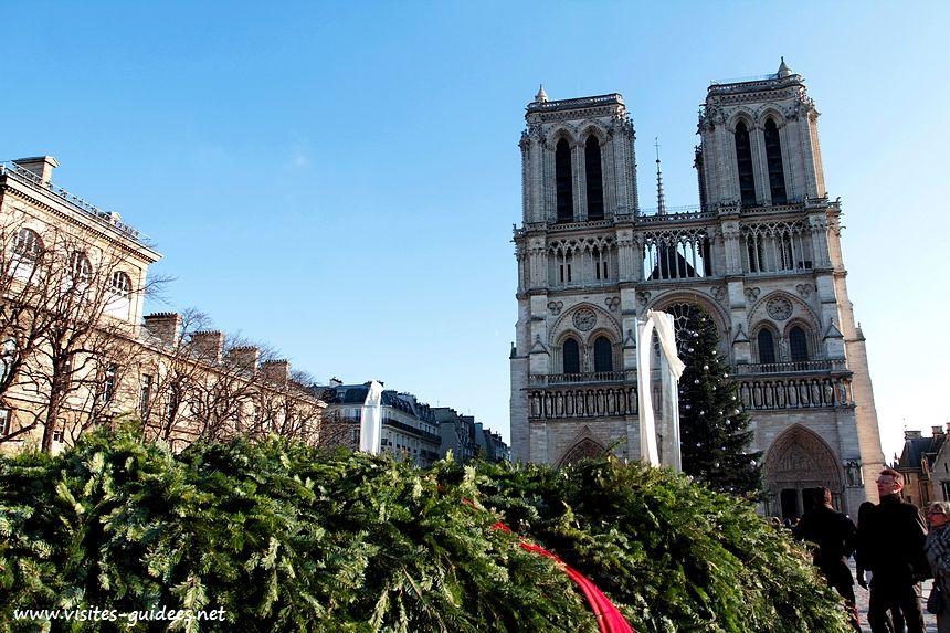 Couronne de l'Avent Notre-Dame de Paris