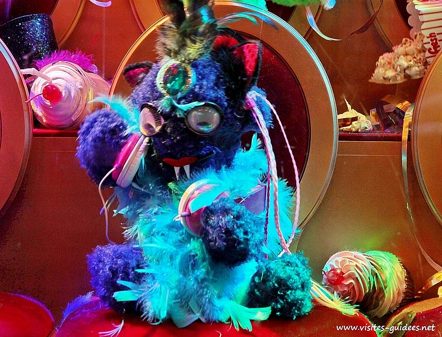 Noël monstre Galeries Lafayette Haussmann