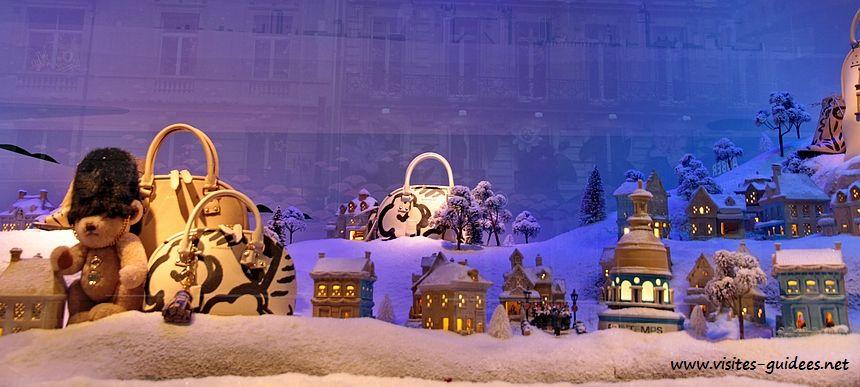Noël voyage magique Printemps Haussmann
