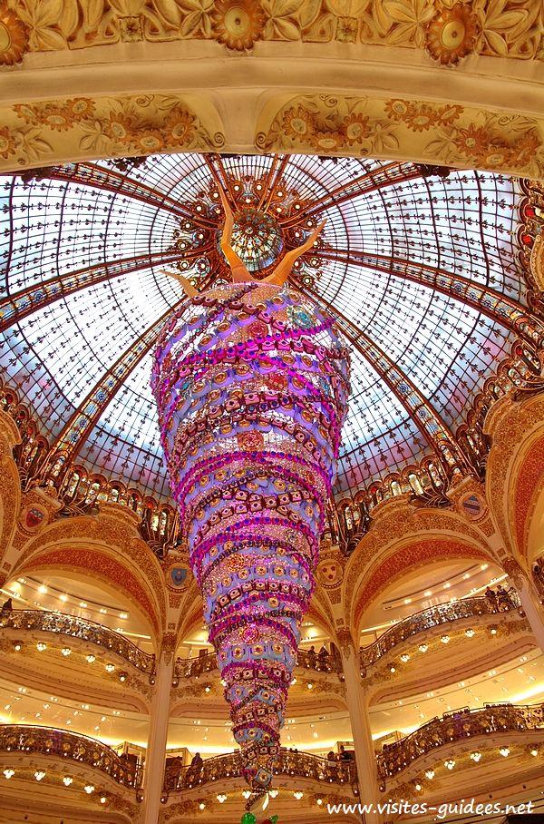 Sapin Galeries Lafayette Haussmann