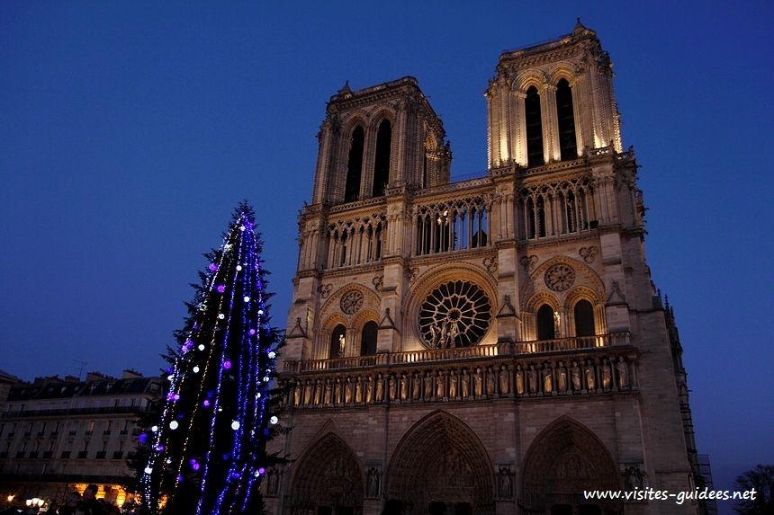 Notre Dame de Paris heure bleue