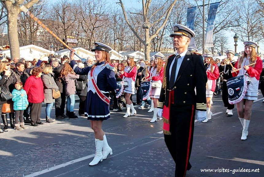 Grande Parade Champs Elysées 2015