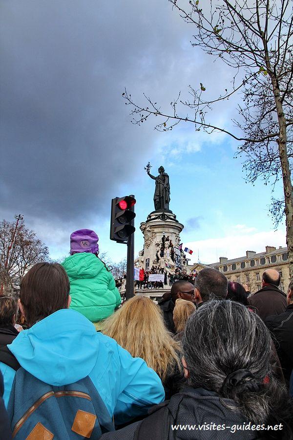 Marche Républicaine Paris 11 janvier 2015