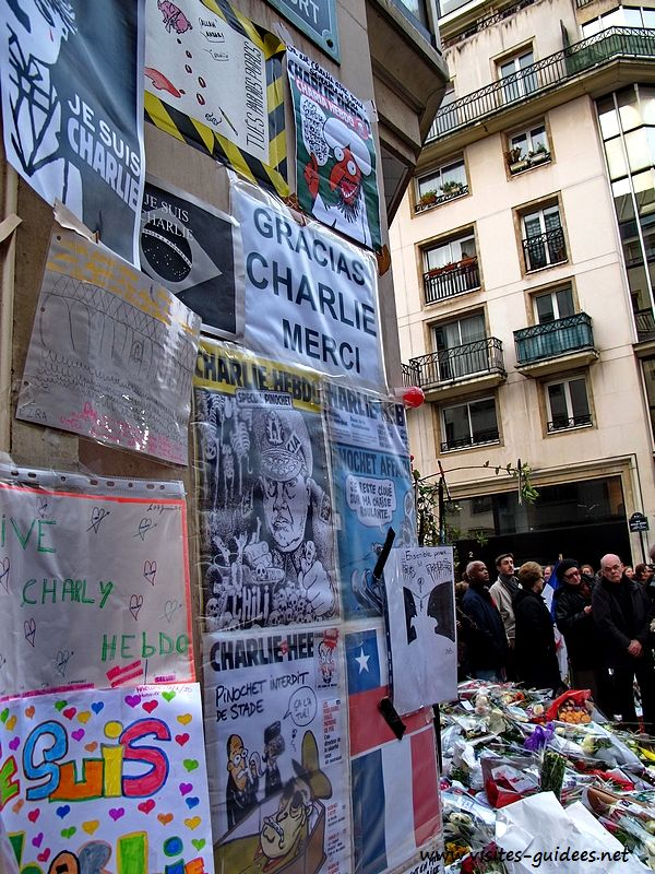 Charlie Hebdo hommage