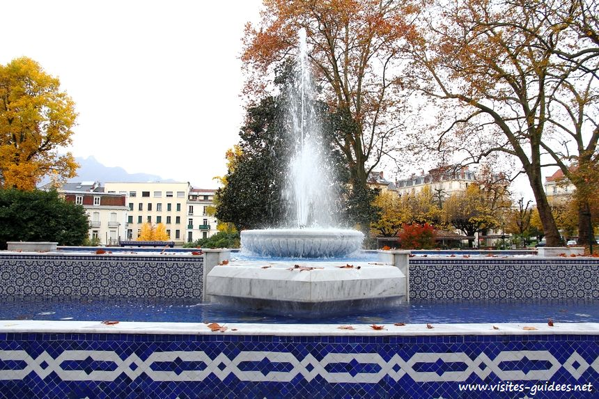 Fontaine Mohammed V Aix-les-Bains
