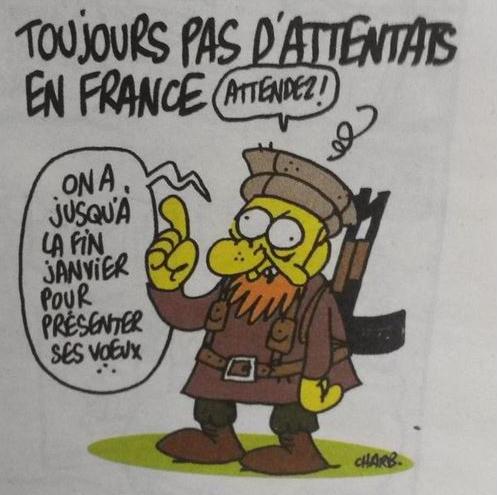charlie hebdo dessin de Charb