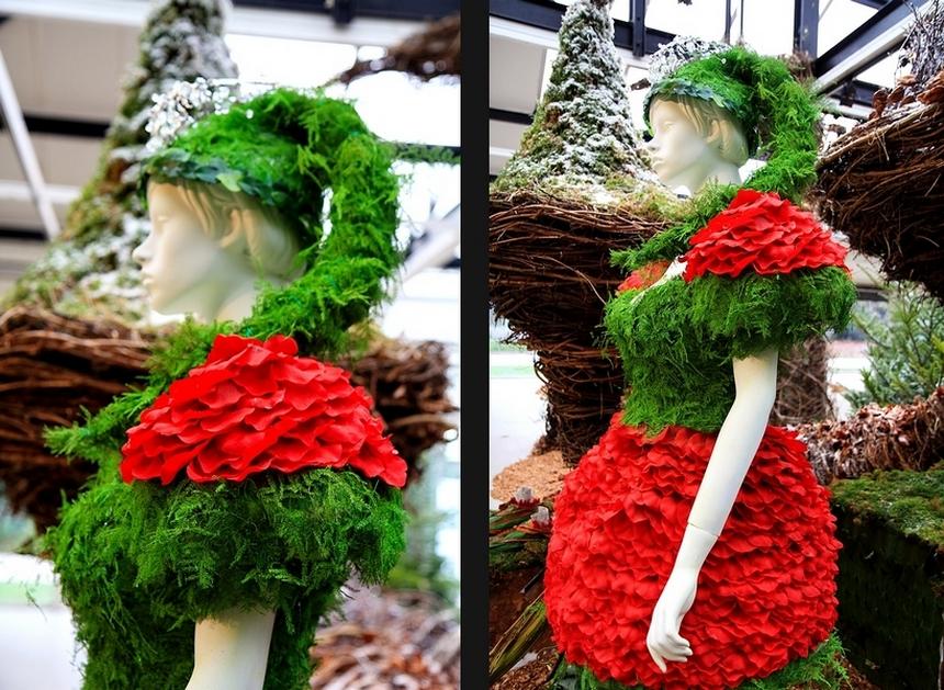 Parc floral de Paris Noël féérique