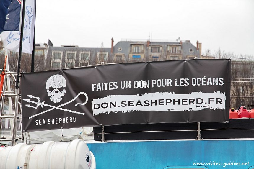 Sea Sheperd à Paris