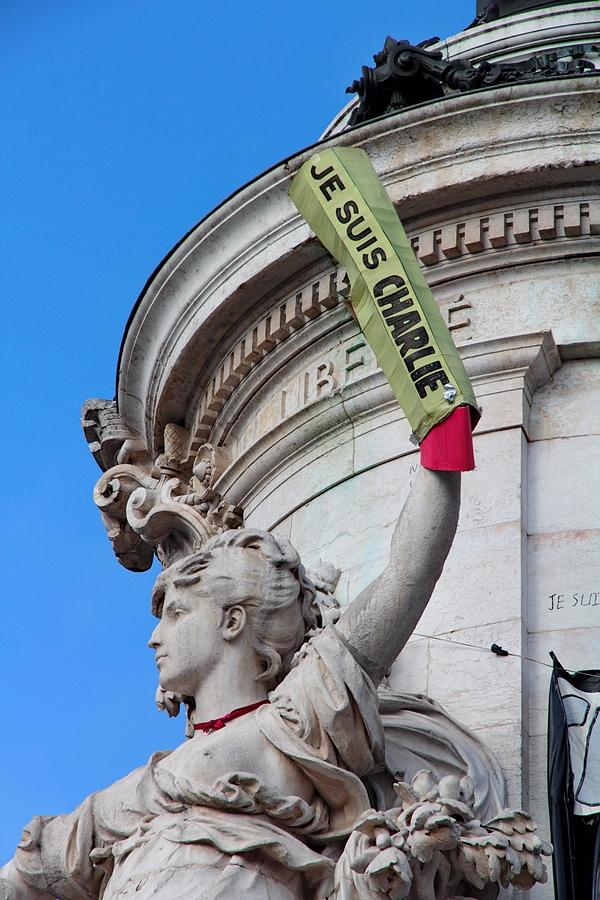 Place de la République Hommage à Charlie Hebdo