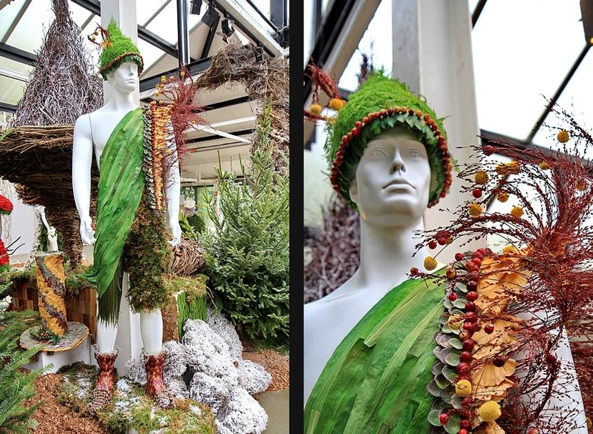 Noël féérique Parc floral de Paris