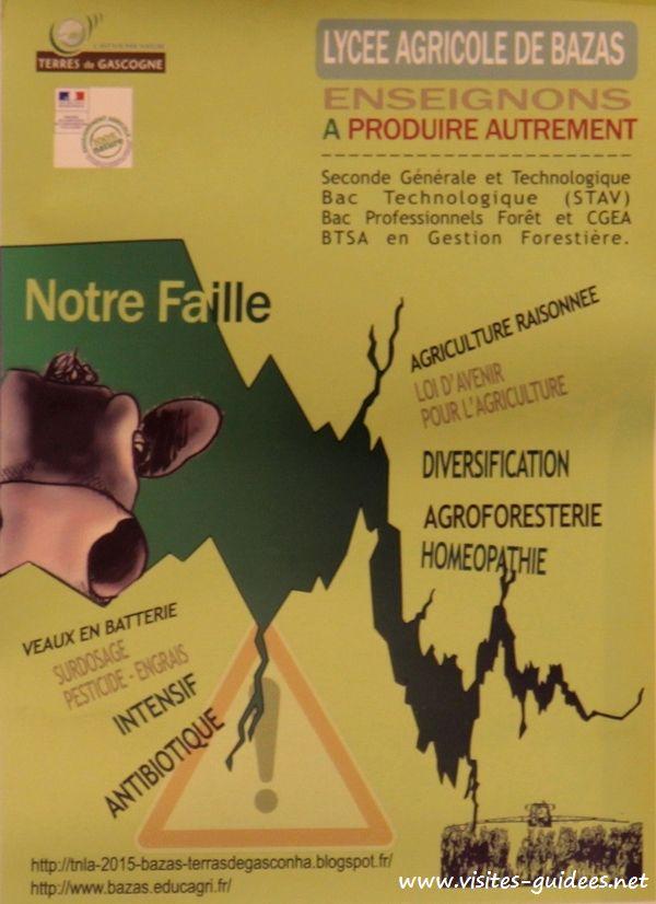 Salon de l'Agriculture 2015 Trophée National des Lycées Agricoles