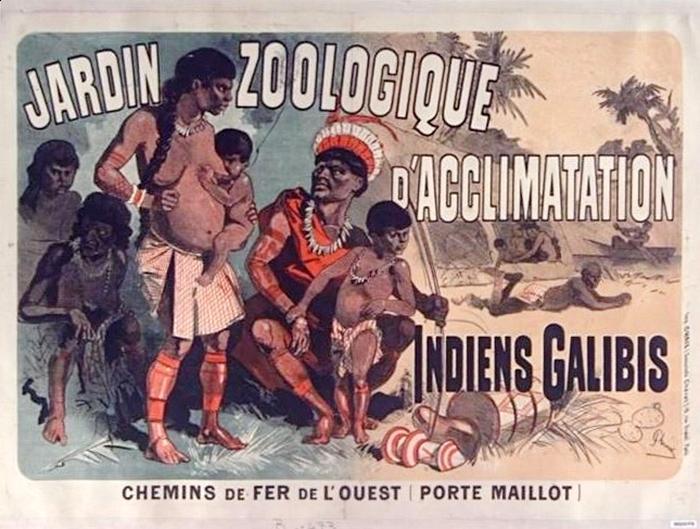Jardin Indiens Galibis chemins de fer de l ouest Porte Maillot BIS