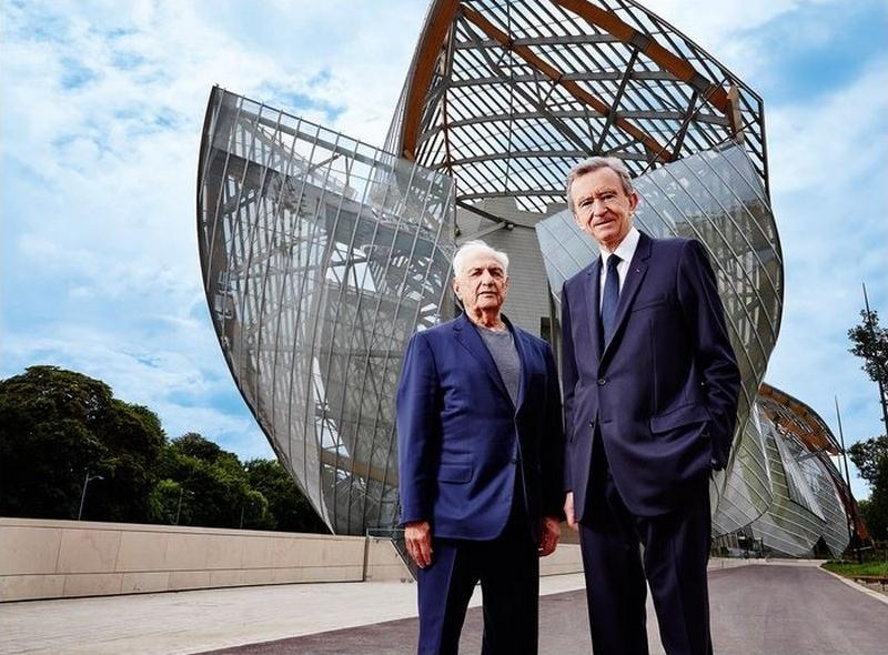 Louis Vuitton Franck Gehry Bernard Arnault